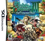 Etrian Odyssey III The Drowned City - nds