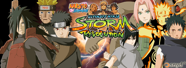 Naruto Shippuden: Ultimate Ninja Storm Revolution - PC
