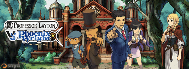 Professor Layton vs. Phoenix Wright: Ace Attorney - N3DS